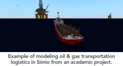 Simio Optimizes Offshore Drilling Transportation Logistics