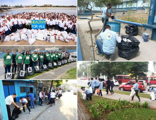 Thousands Participate in 'World Health Day' Trash Cleanup