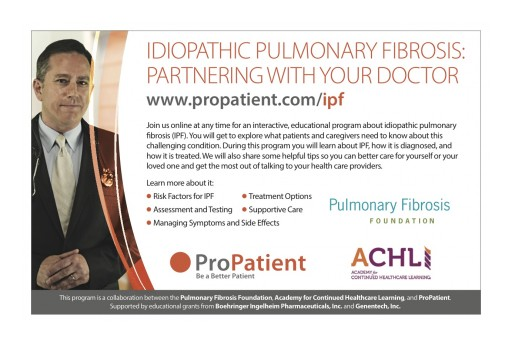 Idiopathic Pulmonary Fibrosis: Partnering With Your Doctor