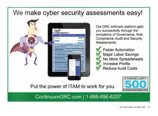 Continuum GRC Uses Blockchain to Enhance IT Audit Machine (ITAM) GRC Solution