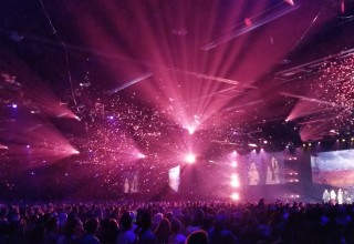Confetti at Brand Launch Event Fills the Air with Color, Motion, and Celebration