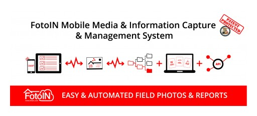 FotoIN Mobile Corporation Announces Issuance of US Patent for Mobile Media and Data Capture and Management System