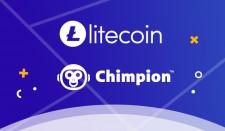 Litecoin and Chimpion Logos