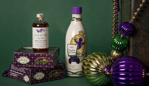 Sidewalk Side Spirits Launches First Spirits Brand: Gambino's King Cake Rum Cream