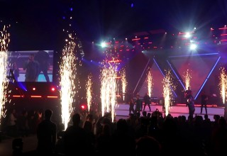 Brilliant Bursts of Live Special Effects Energize Special Events