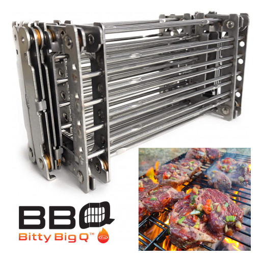 The Bitty Big Q Offers the Perfect Lightweight Camp Grill for the Great Outdoors