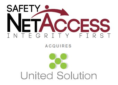 Safety NetAccess, Inc  Acquires United Solution | Newswire