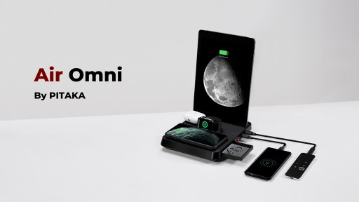 Enter the Air Omni: PITAKA's First 6-in-1 Charging Solution