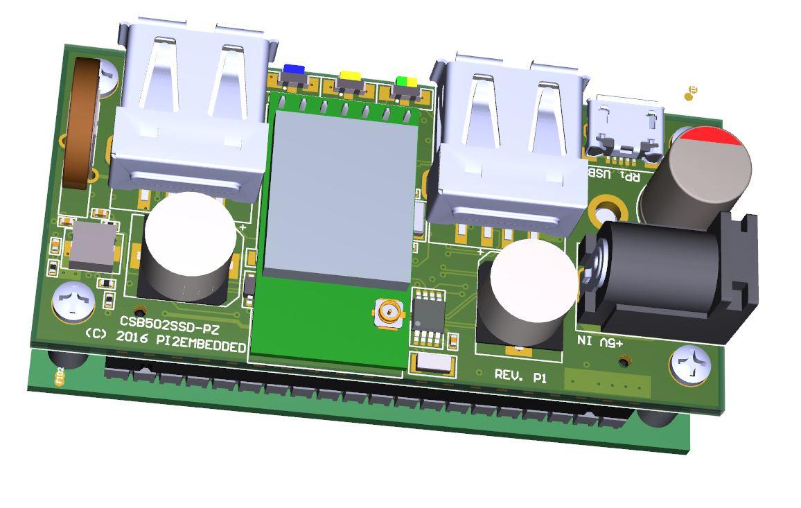 The Zero Shield for the New Raspberry Pi Zero Launches on Indiegogo