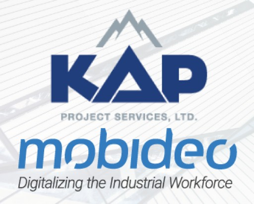 KAP Project Services and Mobideo Announce Strategic Partnership to Deliver End-to-End Real-Time Planning and Execution Solution for Shutdowns, Turnarounds and Outages
