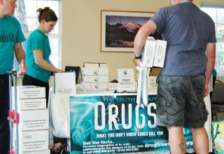 Truth About Drugs educators kits given to SSOs to use in their communities