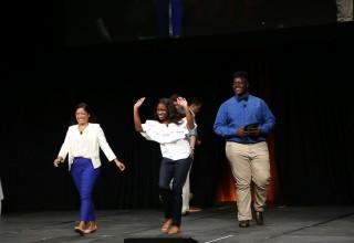 "Burke High School teachers, Amelia Little and Edgar ""Chopper"" Johnson from Charleston, South Carolina, win NTN Best-in-Network Award"