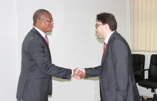 LPTIC Chairman Meets the Telecommunication Minister of Ivory Coast in Abidjan to Discuss a Restructuring Plan for Oricel