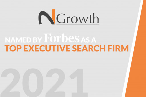 N2Growth Named By Forbes as a Top Executive Search Firm for the 5th Consecutive Year