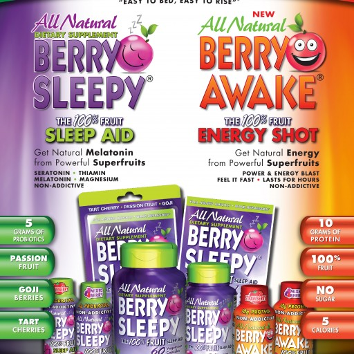 Berry Sleepy, Leading Innovator in Sleep Aids Launches Extensive Line Expansion at Natural Products Expo West