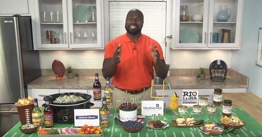 Big Game Party Tips and Tricks With Former All Pro Ovie Mughelli on Tips on TV Blog