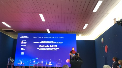 World's Youngest Future Astronaut, Zainab Azim, Continues to Inspire the World