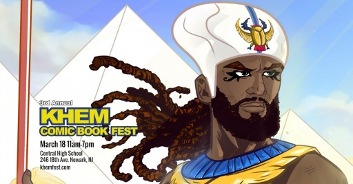 Third Annual Khem Comic Book Fest Returns to Newark This Weekend