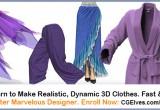 CG Elves Marvelous Designer Beginners Course & Worshops