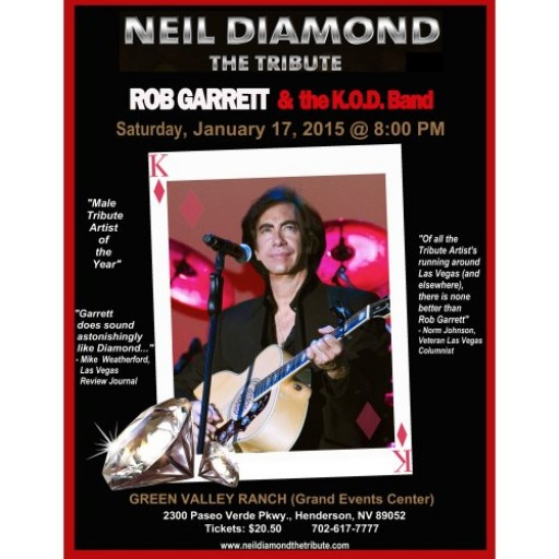 Neil Diamond - the Tribute Featuring Rob Garrett & the K.O.D Band