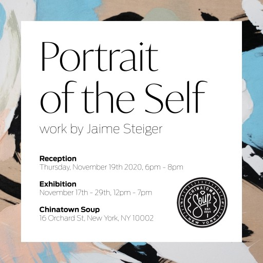 Jaime Steiger Announces Debut Solo Exhibition: Portrait of the Self