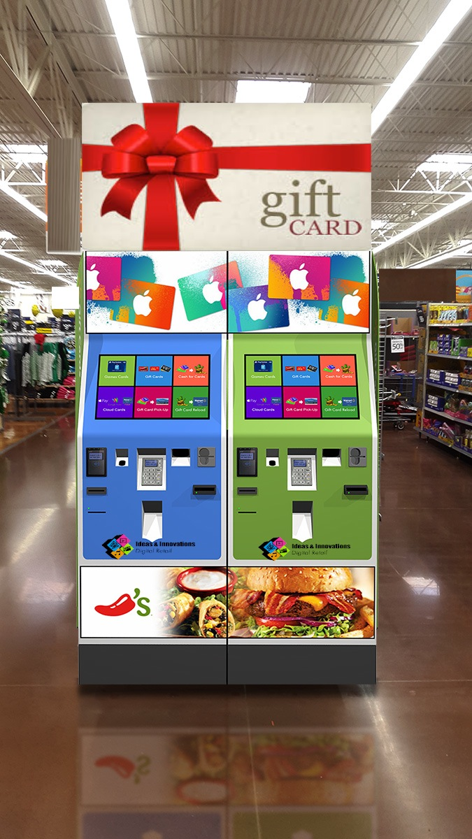 Ideas innovations llc premieres new innovative technologies newswire ideas and innovations llc gift card kiosks m4hsunfo Image collections