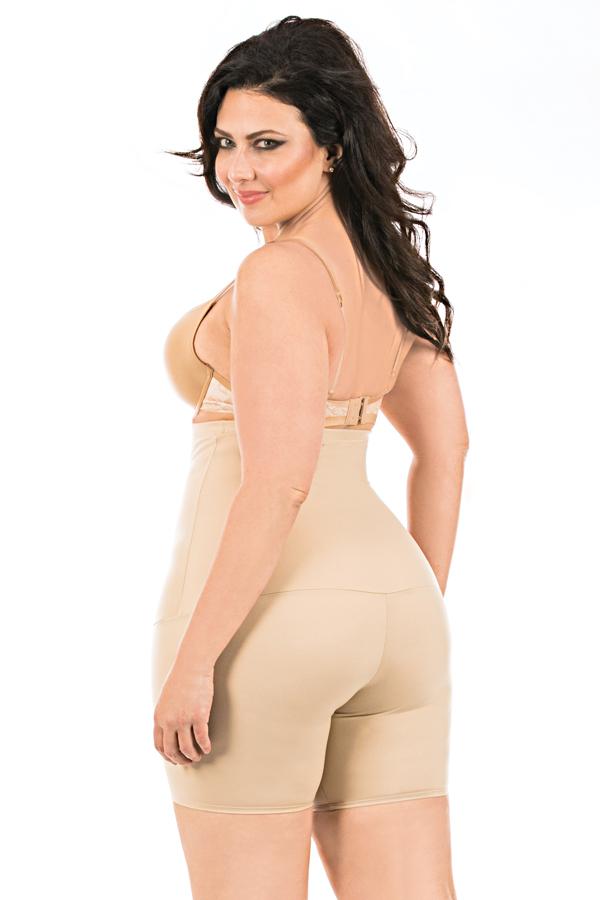 78d53f6141 Underbust Bodyshorts with Open Gusset Hi-waist body short ...