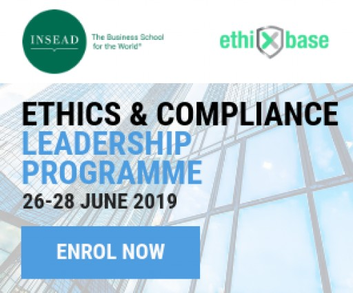ethiXbase and INSEAD Announce the Second Ethics & Compliance Leadership Programme