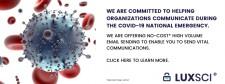 COVID-19 LuxSci Free Services
