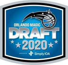 Orlando Magic Draft 2020 Presented by SimplyIOA logo