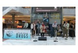 Jive Aces promoting drug-free living at a drug prevention rally in England