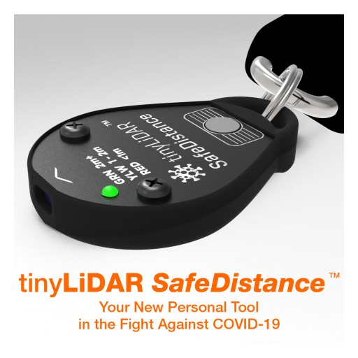 MicroElectronicDesign Launches tinyLiDAR SafeDistance as 'Masks Alone Cannot Stop the Pandemic' (Dr Tedros Adhanom Ghebreyesus, WHO Director-General)*