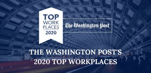 The Washington Post Names Sparks Group a 2020 Top Washington-Area Workplace