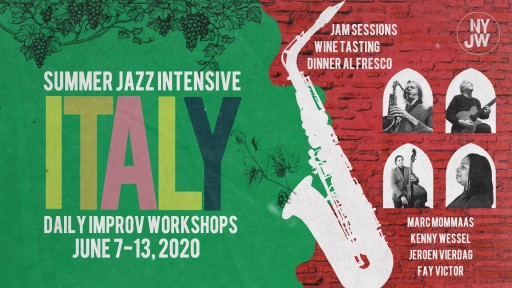 NYJW Jazz Improvisation Workshop in Italy