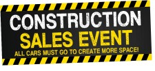 The Kendall Toyota Construction Sales Event is going on now!