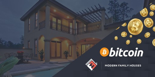 Modern Family Houses to Accept Bitcoin Payments for Custom Homes