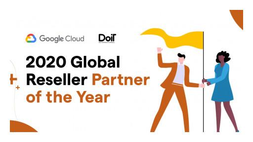 DoiT International Named 2020 Google Cloud Global Reseller Partner of the Year