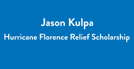 Tech Entrepreneur Jason Kulpa, Announces Scholarship for Students Affected by Hurricane Florence