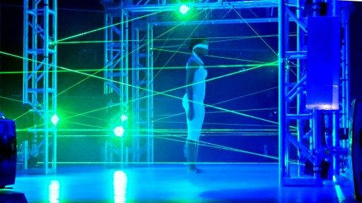 Lasers Create Immersive Challenge For Competition Show
