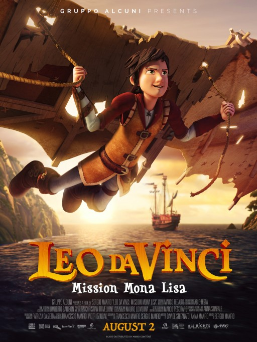 Leo Da Vinci: Mission Mona Lisa Adventures in Theaters on August 2, 2019