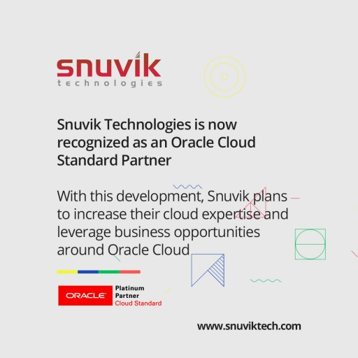 Snuvik Technologies Achieves Oracle PartnerNetwork Cloud Standard Designation