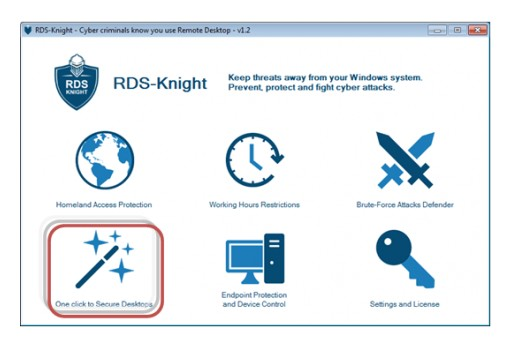 RDS-Knight Introduces One-Click Policies to Secure Desktop