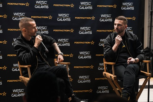 WeSC and Galantis Launch Their Collaboration at Footaction With an In-Store Event