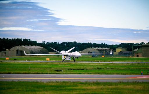GA-ASI SeaGuardian Flies First Approved Point-to-Point UAS Flight in UK