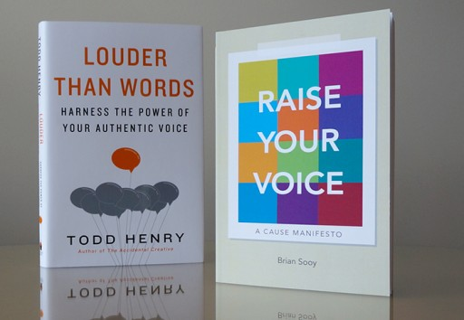 Free Poster and Book Giveaway Features Raise Your Voice and Louder Than Words