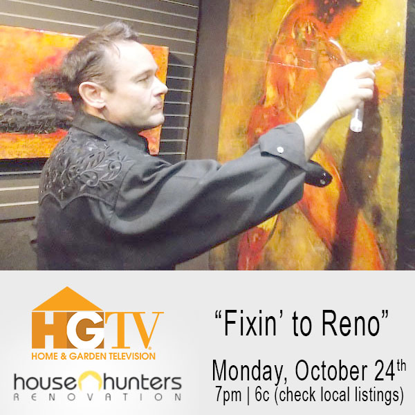 Artist Darrell Troppy Featured on HGTV's Hit TV Series House Hunter