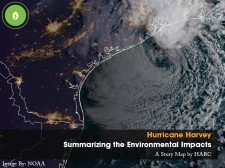 HARC's Summarizing Hurricane Harvey's Environmental Impacts