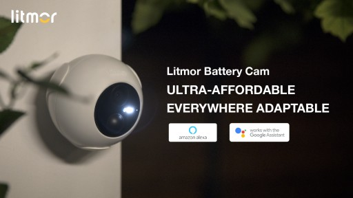Litmor Launched the Most Affordable Battery Cam That Can Be Used Anywhere