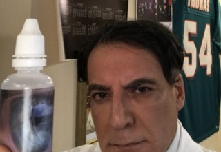 Dr. Farshchian makes stem cell eye drops available to everyone!