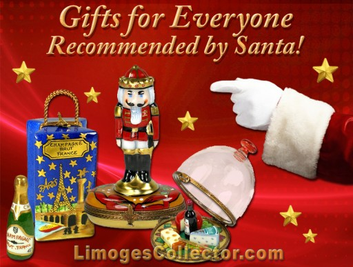 LimogesCollector.com Celebrates the Holiday Season with Free Shipping on Luxury Limoges Box Gifts for All